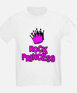 "RockBaby ""Princess"" Kids T-Shirt"