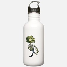 Cute zombie cartoon Water Bottle