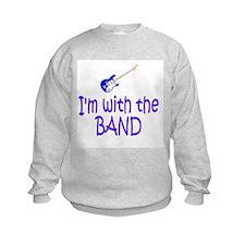 RockBaby...with the Band Sweatshirt