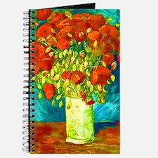 orange poppies van gogh Journal