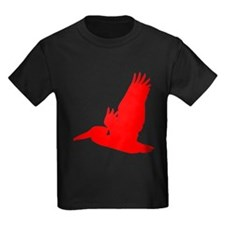 Red Pelican Silhouette T-Shirt