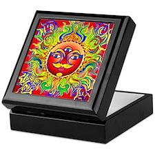 Lynn Red Chakra Keepsake Box