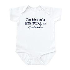 Big Deal in Guatemala Infant Bodysuit