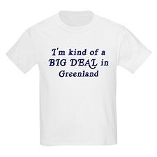 Big Deal in Greenland Kids T-Shirt