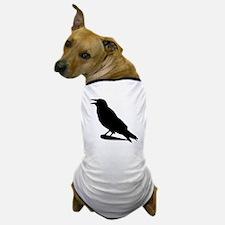 Black Crow Silhouette Dog T-Shirt