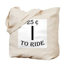 25 cents Tote Bag