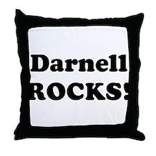 Darnell Rocks! Throw Pillow