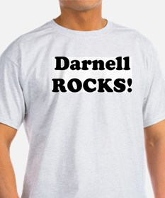 Darnell Rocks! Ash Grey T-Shirt