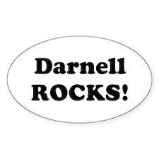 Darnell Rocks! Oval Decal