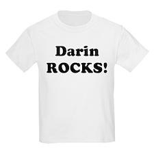 Darin Rocks! Kids T-Shirt