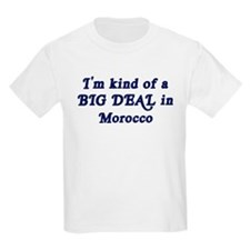 Big Deal in Morocco Kids T-Shirt