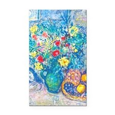 marc chagall still life Rectangle Car Magnet