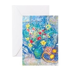 marc chagall still life Greeting Card