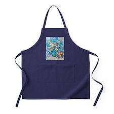 marc chagall still life Apron (dark)