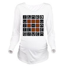 gimme2 Long Sleeve Maternity T-Shirt