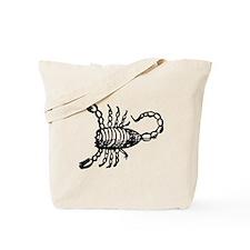 Black Scorpion Tote Bag