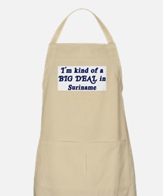 Big Deal in Suriname BBQ Apron