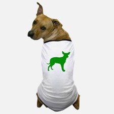 Green Dingo Silhouette Dog T-Shirt