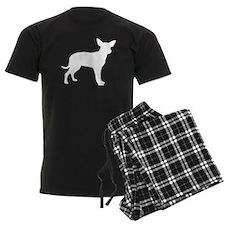White Dingo Silhouette pajamas