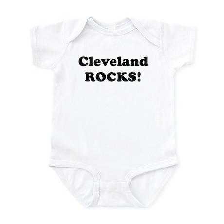 Cleveland Rocks! Infant Bodysuit