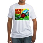 Apple Kids Brand Fitted T-Shirt