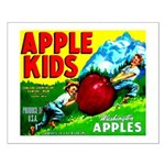 Apple Kids Brand Small Poster