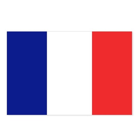 Flag of France Postcards (Package of 8)