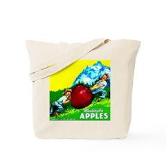 Apple Kids Brand Tote Bag