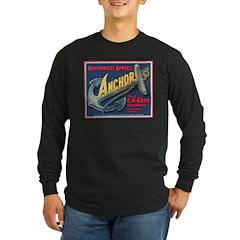 Anchor Brand Long Sleeve Dark T-Shirt