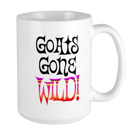 Goats Gone Wild Large Mug