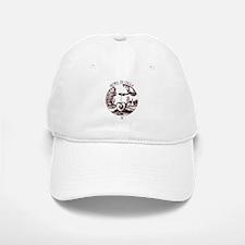 Embedded Skull Baseball Baseball Cap