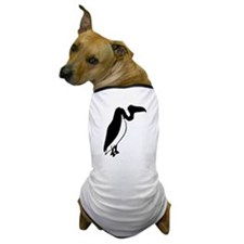 Black Vulture Silhouette Dog T-Shirt