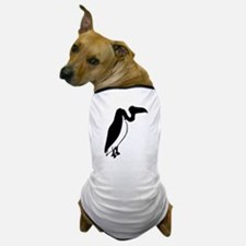 Black Vulture Silhouette Dog T-Shirt
