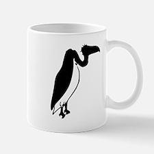 Black Vulture Silhouette Mugs