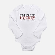 Eat Sleep Hockey Body Suit