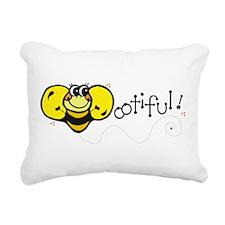 bootiful.png Rectangular Canvas Pillow