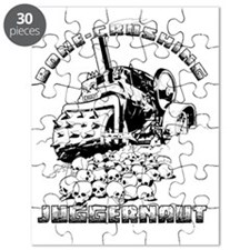 Bone Crushing Juggernaut Logo Puzzle