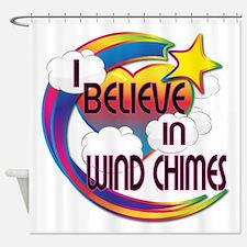 I Believe In Wind Chimes Cute Believer Design Show