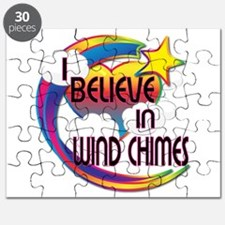 I Believe In Wind Chimes Cute Believer Design Puzz