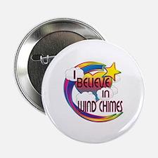 I Believe In Wind Chimes Cute Believer Design 2.25
