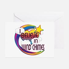 I Believe In Wind Chimes Cute Believer Design Gree