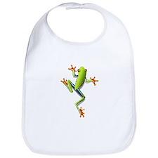 Poison Dart Frog Bib