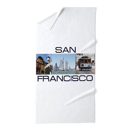 ABH San Francisco Beach Towel