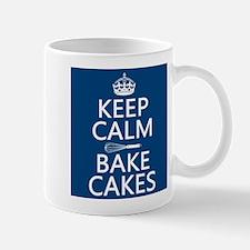 Keep Calm and Bake Cakes Mug