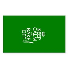 Keep Calm and Bake Off Decal