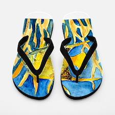 tropical-fish-painting-large.jpg Flip Flops
