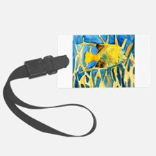 tropical-fish-painting-large.jpg Luggage Tag