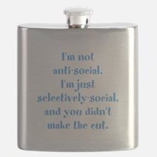 Not Anti-Social Flask
