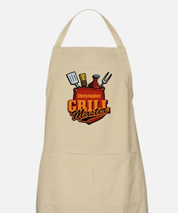 Pocket Grill Master Personalized Apron