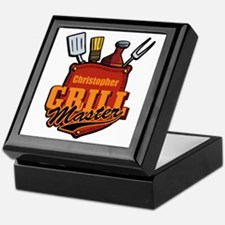 Pocket Grill Master Personalized Keepsake Box